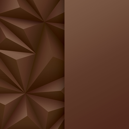 web banner: Brown abstract background vector.