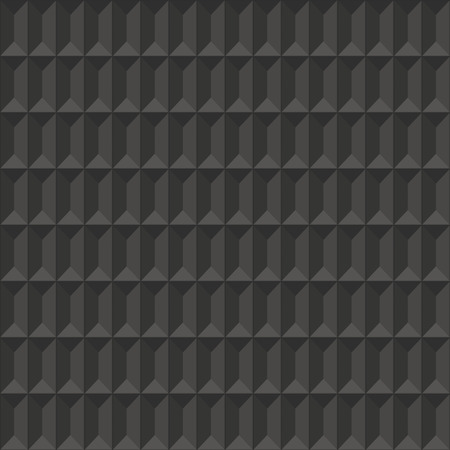gray: Dark gray geometric texture. Illustration