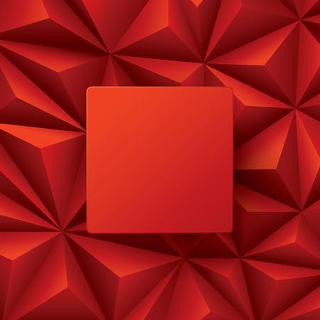Vector rojo del fondo abstracto.
