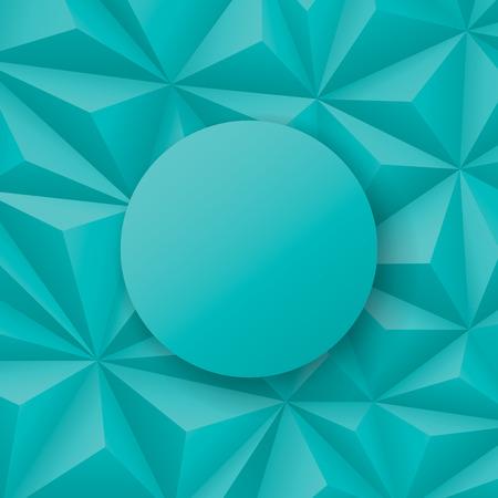 greenish: Greenish blue geometric vector background.