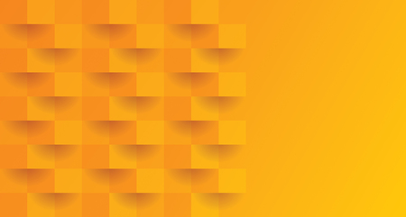 Orange abstract background with blank space for text.