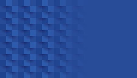 Blue abstract background vector with blank space for text. Çizim