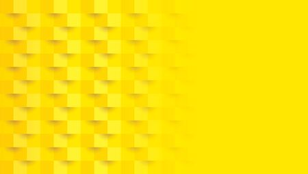 Yellow abstract background vector with blank space for text. Çizim