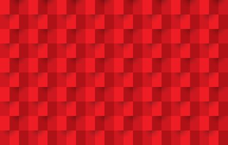 Red background, abstract seamless pattern.