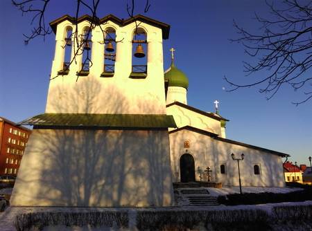 ministration: Church of the Epiphany from Zapskovje