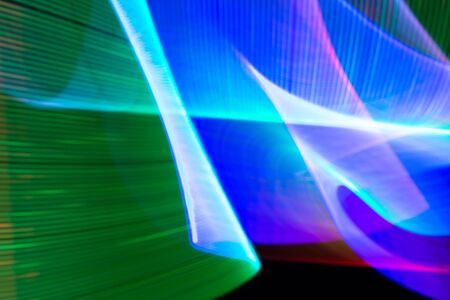 Light painting abstract background. Stock Photo