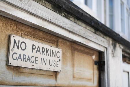 Signboard no parking Zdjęcie Seryjne