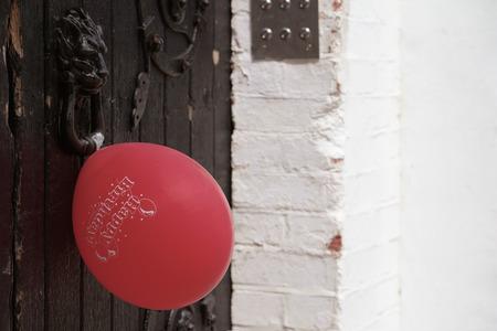 Air balloon happy birthday