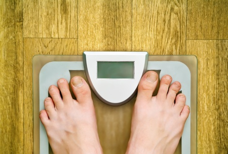 weight scale Stock Photo - 10361275