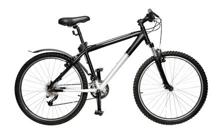 Mountain-Bike, isoliert auf weiss Standard-Bild - 10361270
