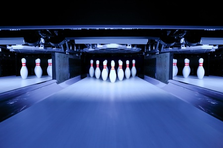 boliche: bowling pins