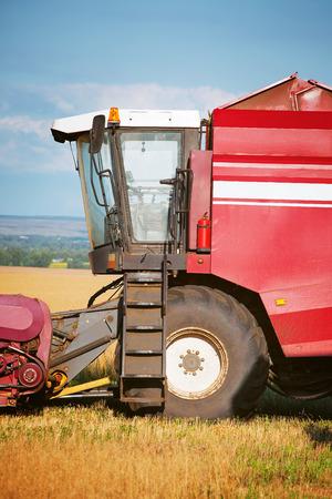 combine: combine harvester