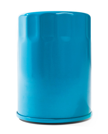 industrial objects equipment: oil filter Stock Photo