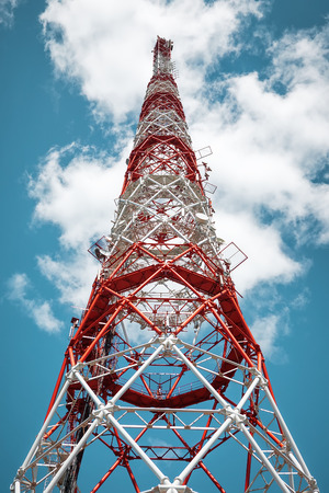 communication tower: Communication tower radio signal
