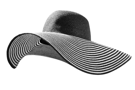 chapeau de paille: Dimanche Hat Banque d'images