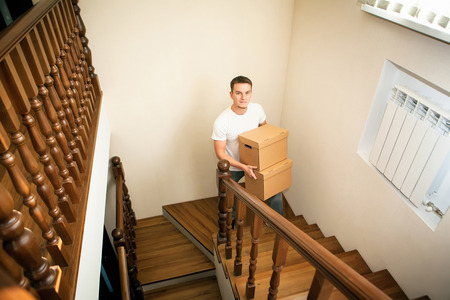 delievery: moving house