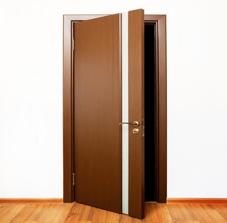 open hole: open door Stock Photo
