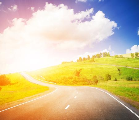 sun light: sunset highway