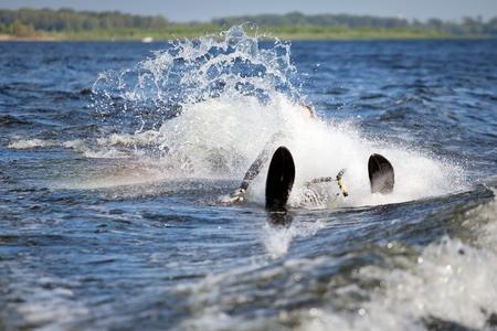 waterski fail Фото со стока