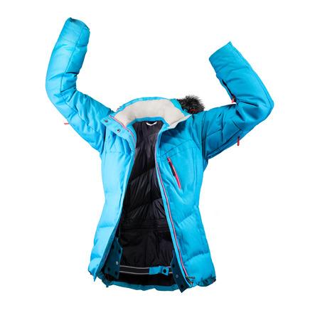 winter jacket: winter jacket isolated on white