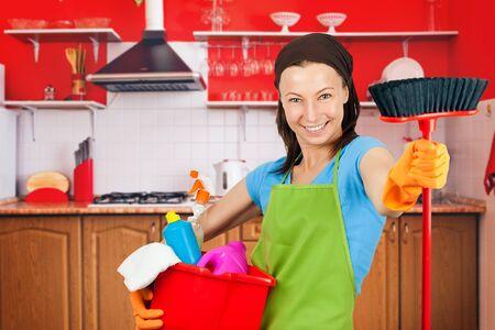 limpieza  del hogar: empleada de limpieza
