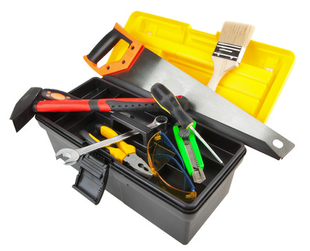 boxcutter: toolbox isolated on white