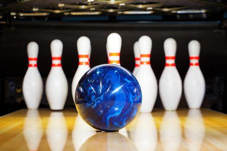 bowling Banque d'images