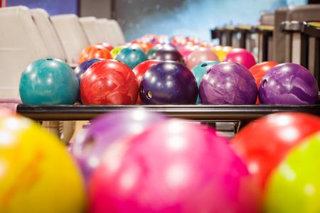 Bowling-Kugeln Lizenzfreie Bilder