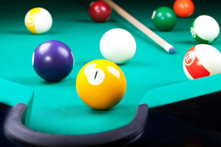 billiard: billiard Stock Photo