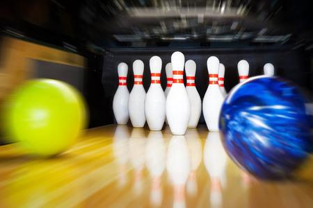bowling ball: bowling Stock Photo