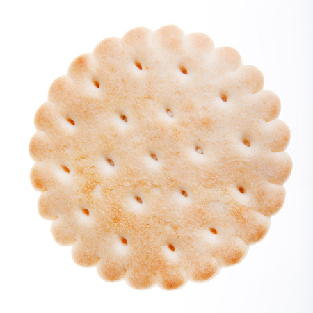 bisquit: cookie isolated on white