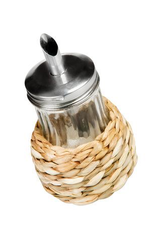food staple: sugar bowl isolated on white Stock Photo