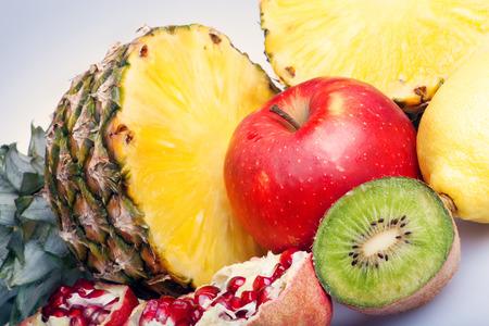 pomegranat: fruits Stock Photo