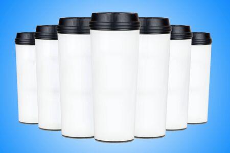 coffee cups: coffee cups Stock Photo