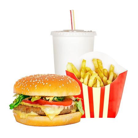 alimentos y bebidas: de comida rápida