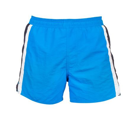 Shorts isoliert auf weiß Standard-Bild - 55278146