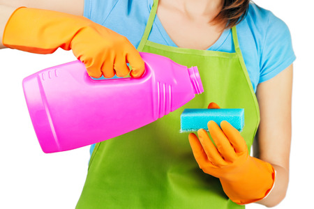 domestic staff: cleaning
