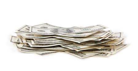 heap: dollars heap Stock Photo