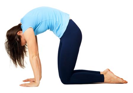 good posture: el ejercicio de yoga