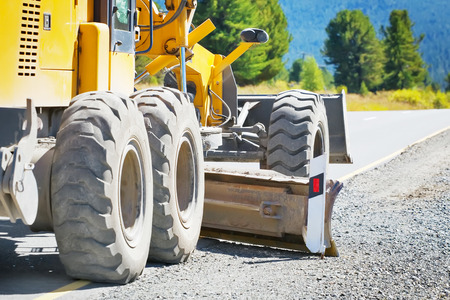 grader: grader road construction