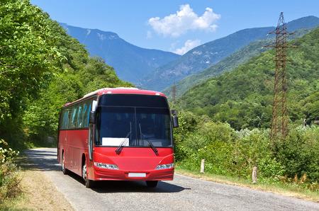 bus tour: bus tour Stock Photo