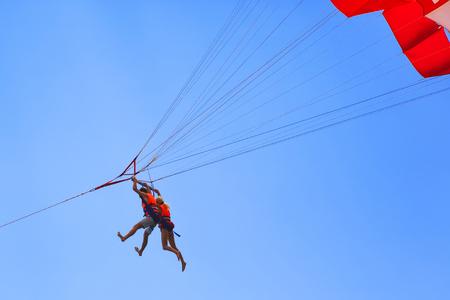 acrophobia: parasailing