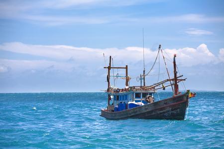 Fischerboot Standard-Bild - 58201121