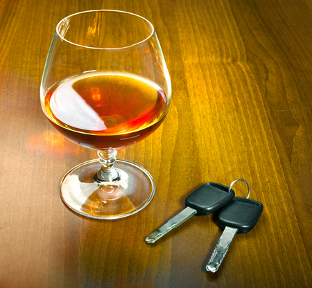 drink and drive: drink and drive Stock Photo