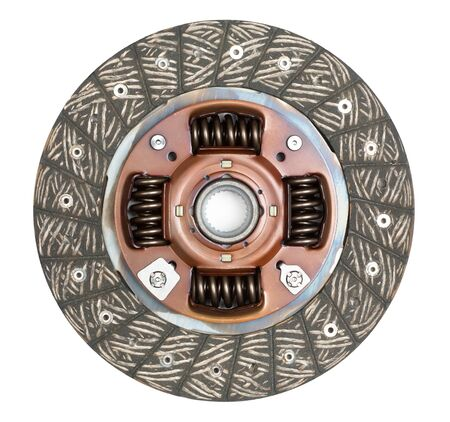 clutch: clutch disc isolated on white