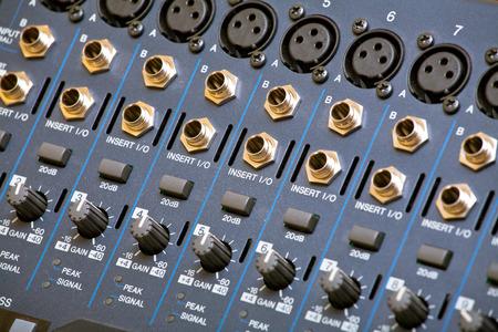 panel de control: Panel de control de sonido