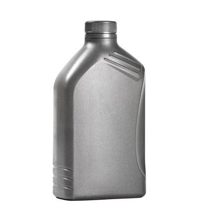 oil can: motor oil can isolated on white