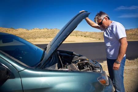 broken car: car breakdown