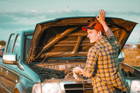 roadside stand: car breakdown