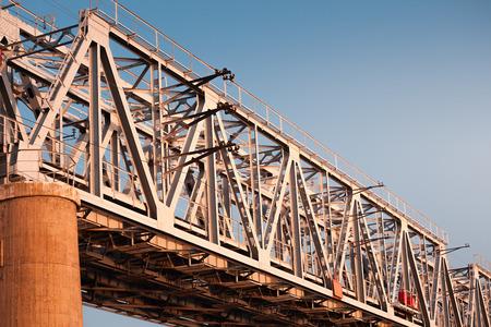 railway bridge Lizenzfreie Bilder